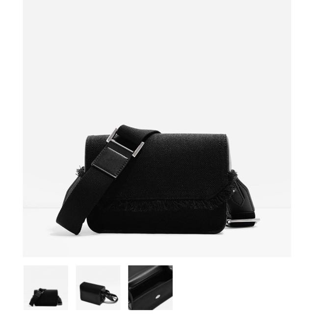 Charles & Keith Front Flap Sling Bag