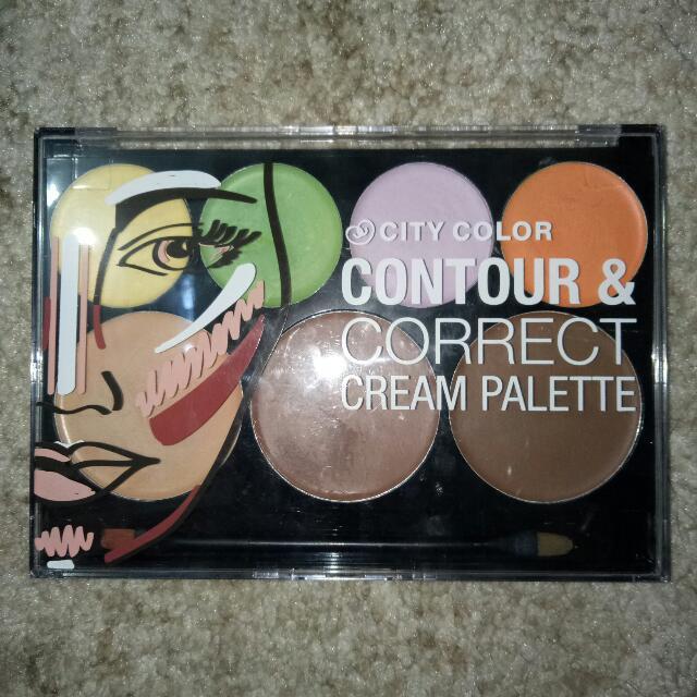 City Color - Contour And Correct Cream Palette