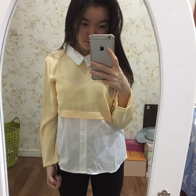 Cotton Ink Yellow Long Sleeves