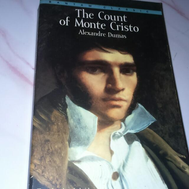 Count Of Monte Cristo Novel