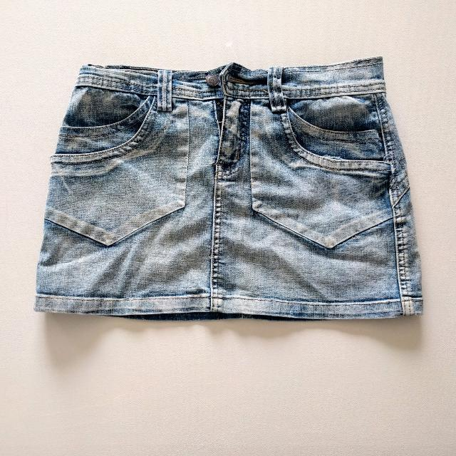 💰 Denim Mini Skirt