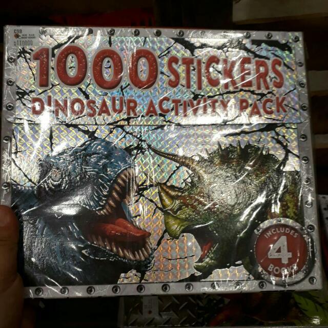 Dinosaurs Sticker Hologram Dinosaurus BBW 2017