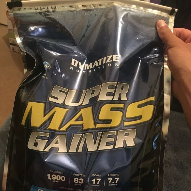 DYMATIZE SUPER MASS GAINER 12 LBS (5.4 KGS)