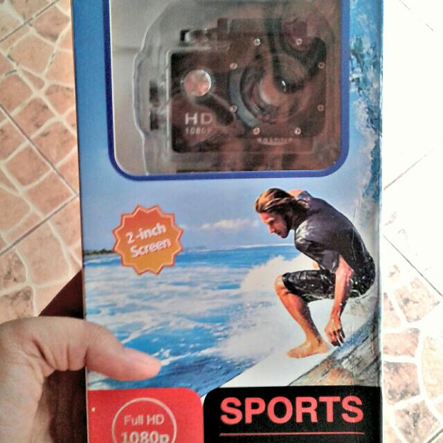 "ET Sports Camera (2"" HD Screen)"
