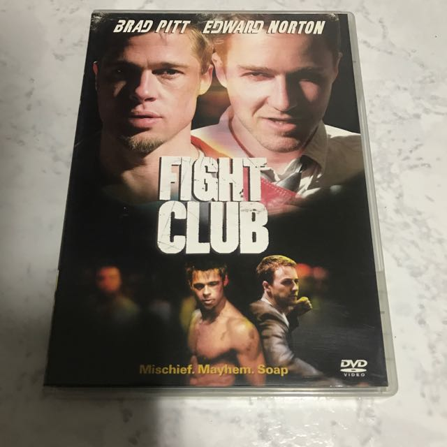 fight club dvd  Fight Club DVD, Music & Media, CDs, DVDs & Other Media on Carousell