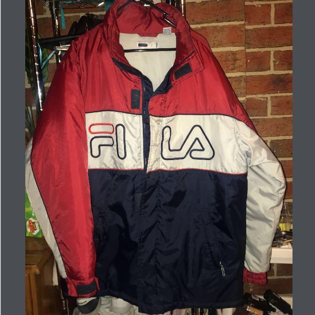 Fila Jacket Sz Large