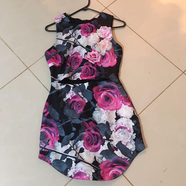 Floral Slim Dress