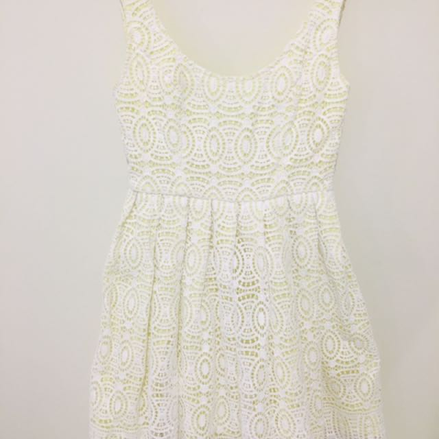 Forever New Lace Dress Size 8