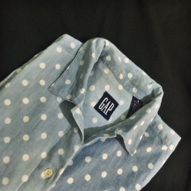 GAP Polka Denim Shirt