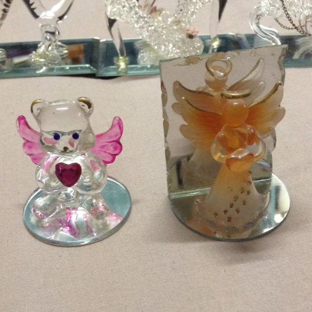 Glass Figurines/figures