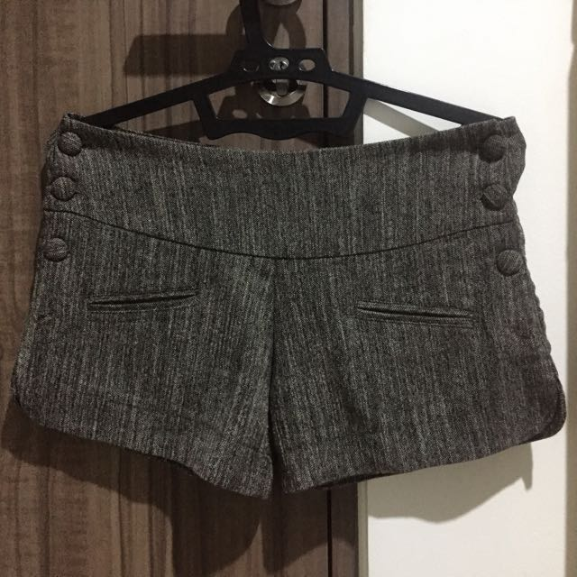 Grey Brown Shortpants