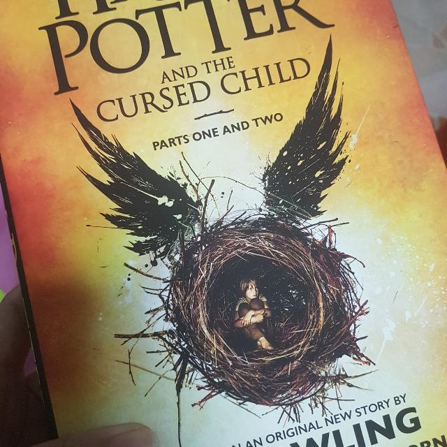 Harry Potter and The Cursed Child (Hard Bound)