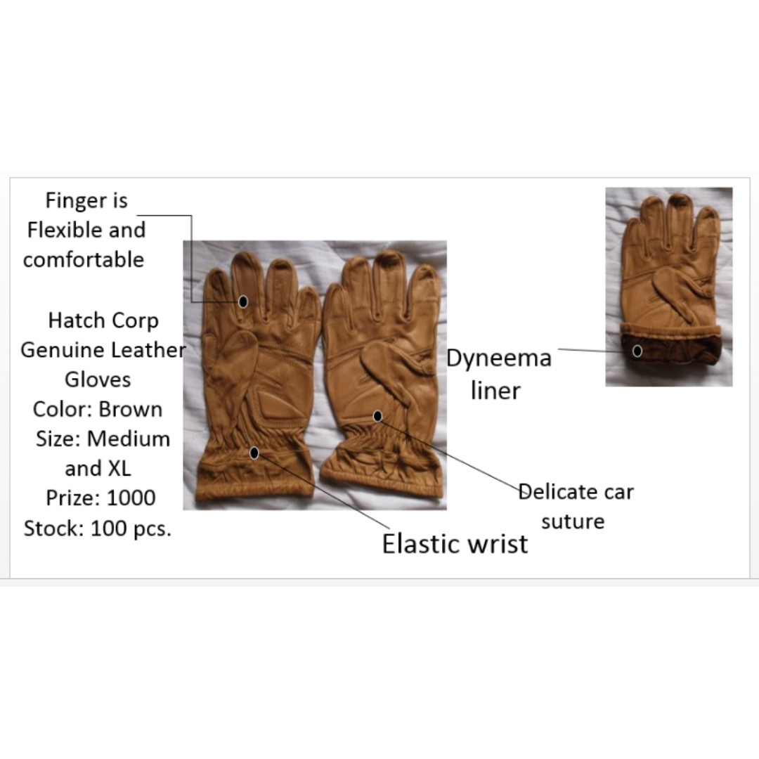 Hatch Corp Leather gloves