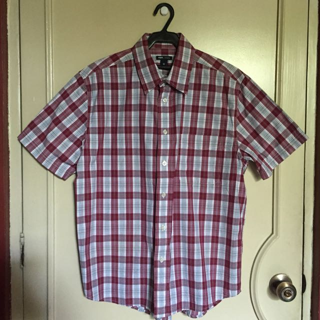 H&M Plaid Polo