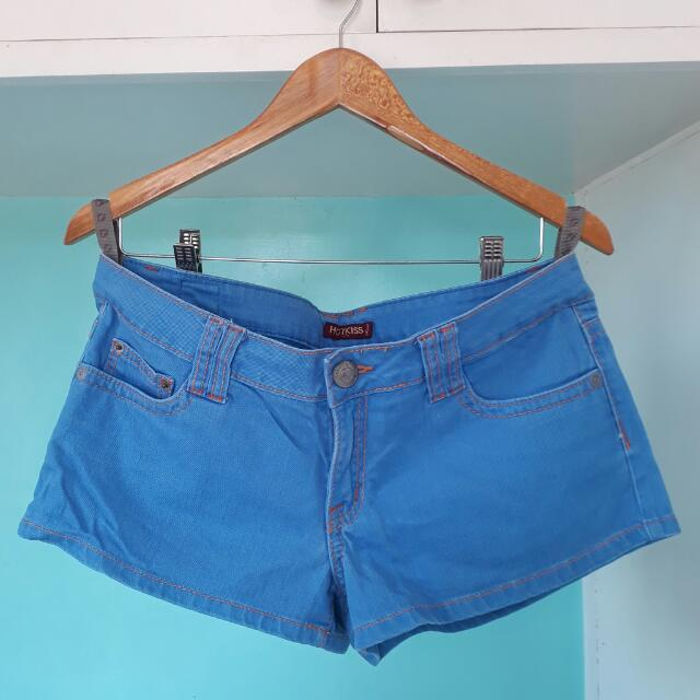 Hot Kiss Blue Jeans Short