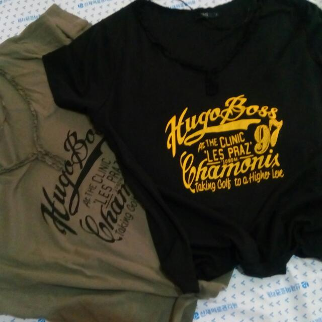 Imported OVS Brandnew Tshirts made in Bangladesh assorted sizes S M L 100% cotton Cool&comfortable to wear