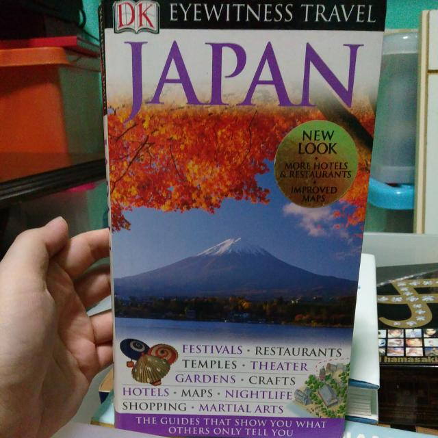 eyewitness travel guides japan