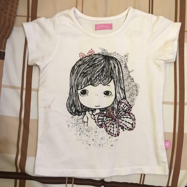 Kaos Anak Cewe 1 Tahun