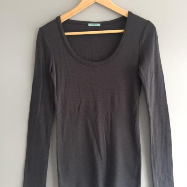 Kookai Woolen Long Sleeve Top