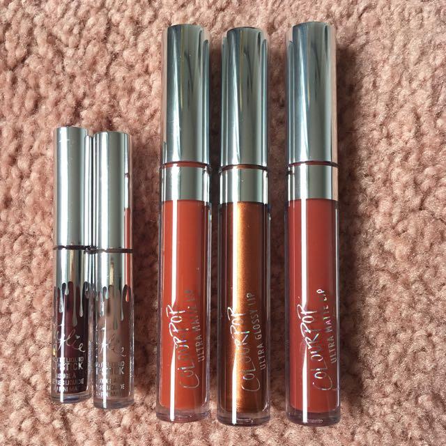 Kylie & Colourpop Lippies