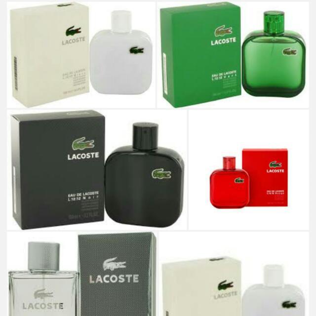 Lacoste Perfume