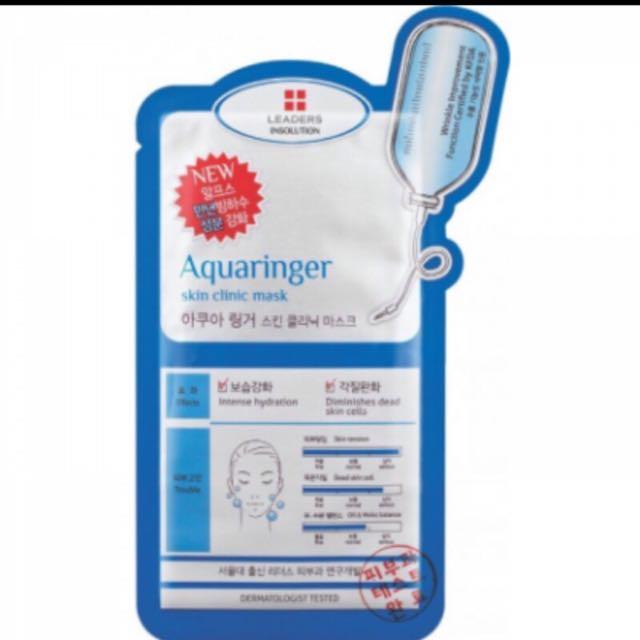 韓國熱銷Leaders Insolution 面膜:Aquaringer 冰河水庫