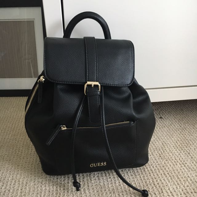 Leather GUESS backpack