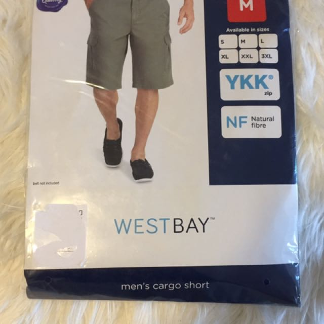 Men's Cargo Shorts Size Medium