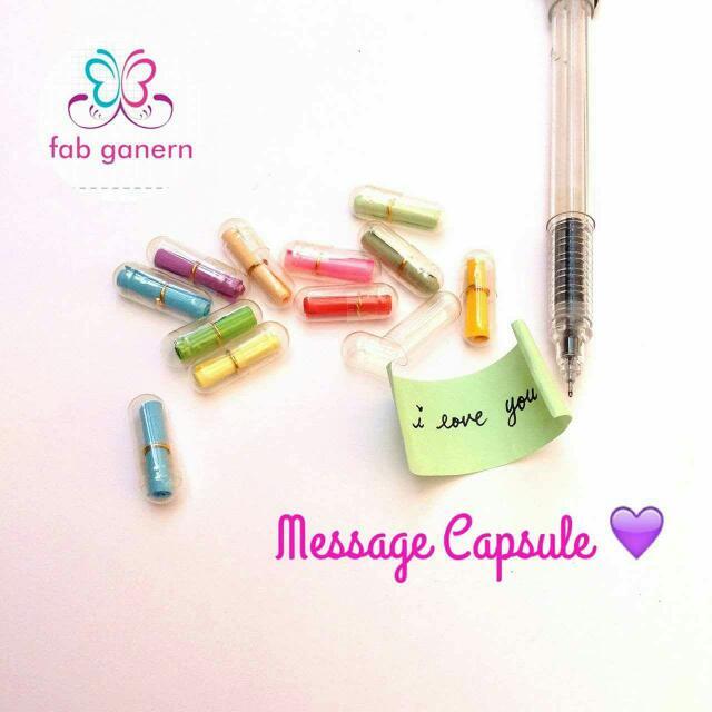 Message Capsules