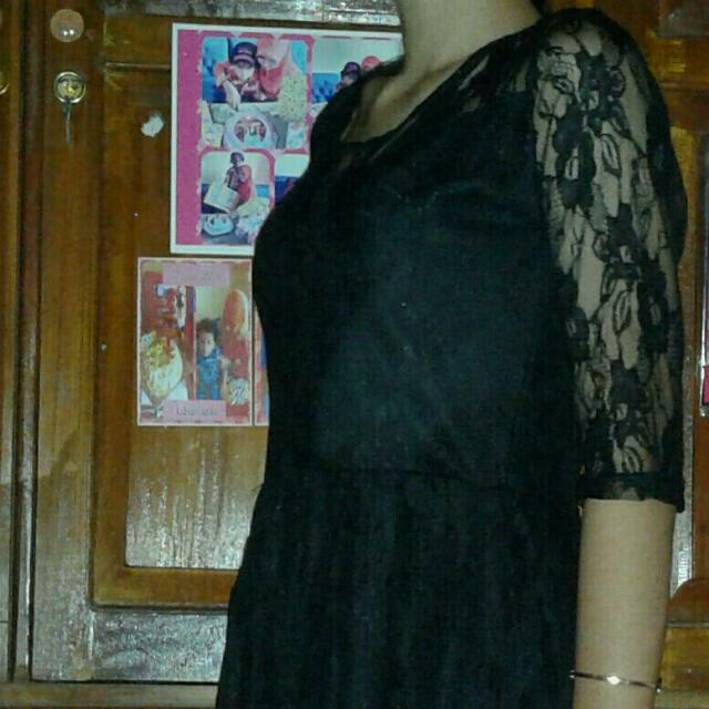 Mini Dress Brukat