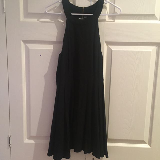 MINKPINK Black Skater Dress