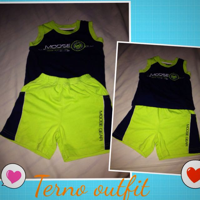 Moose gear Terno Outfit