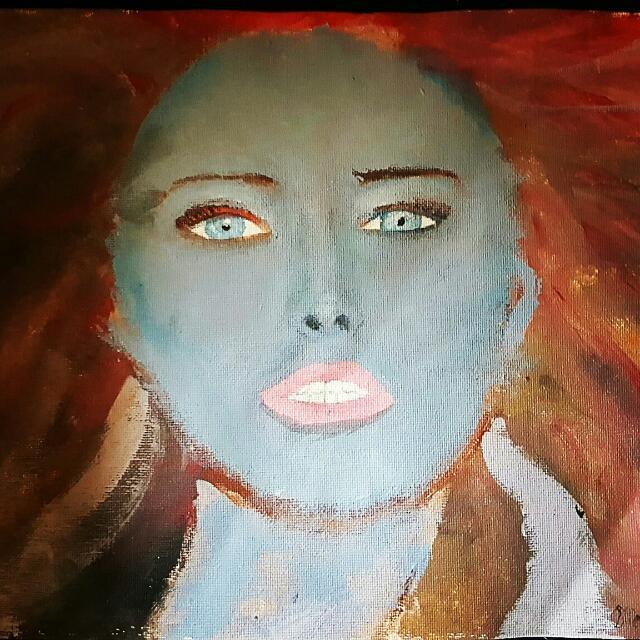 MYSTIQUE painting