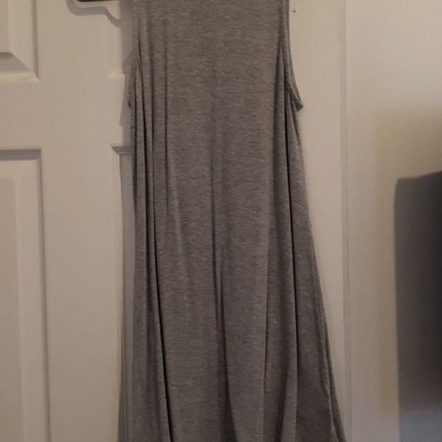 New Grey Summer Dress