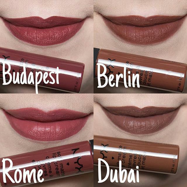 [Authentic] NYX Soft Matte Lip Cream - Berlin (8ml)