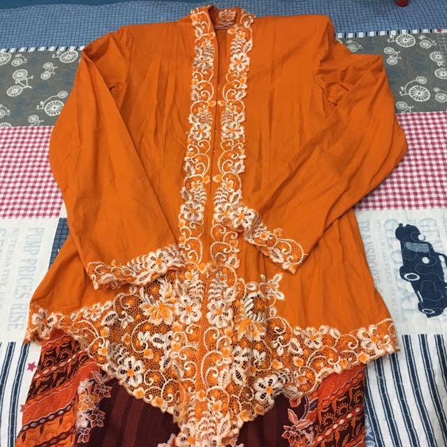 Orange Kebaya