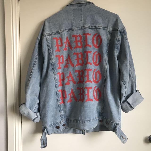 Pablo Kanye Yeezy Denim Jacket