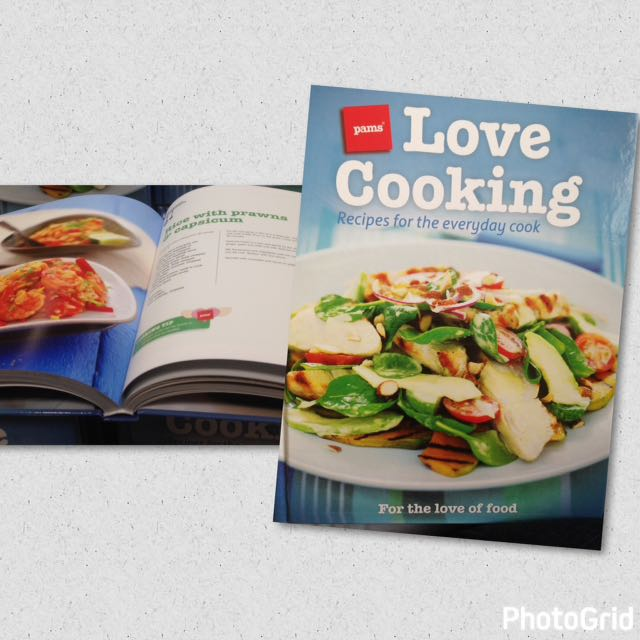 Pams Love Cooking Cookbook #thecafe