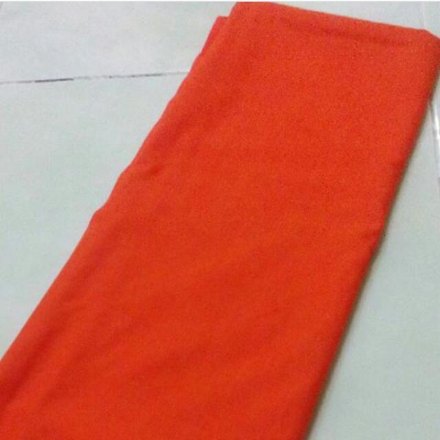 Pashmina Katun Ima Orange