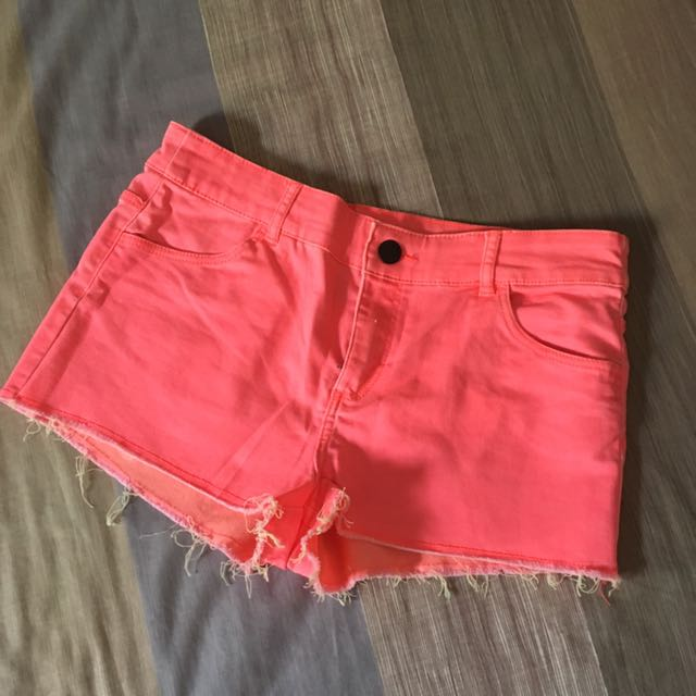 H&M Pink Sexy Shorts