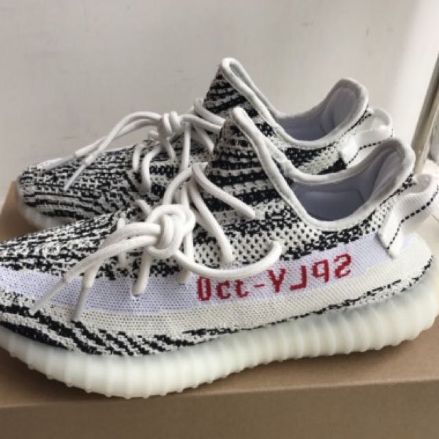 66bb558d9a18c 💠PO💠 100% Unauthorised Authentic Adidas Yeezy Boost 350 V2 Zebra ...