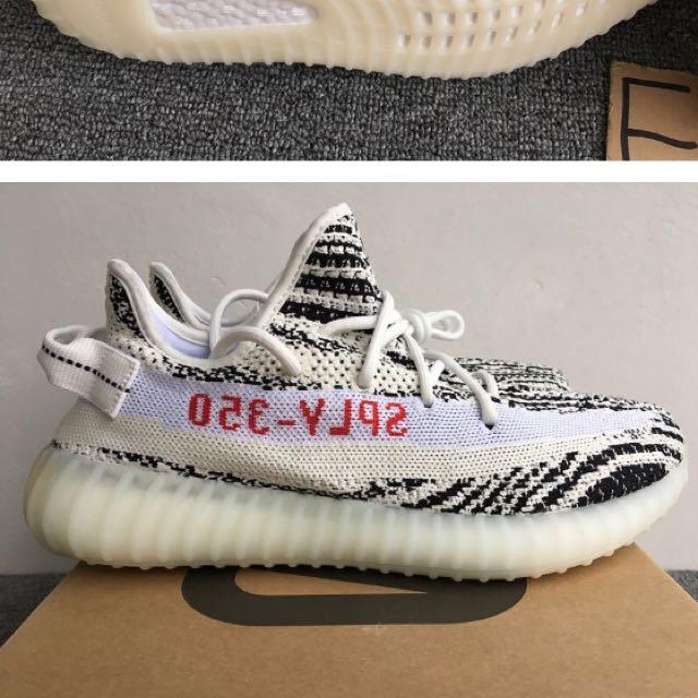 💠PO💠 100% Unauthorised Authentic Adidas Yeezy Boost 350 V2 Zebra ... 6a0f0317f5