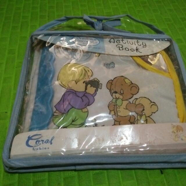 Precious Moments Activity Book Brandnew