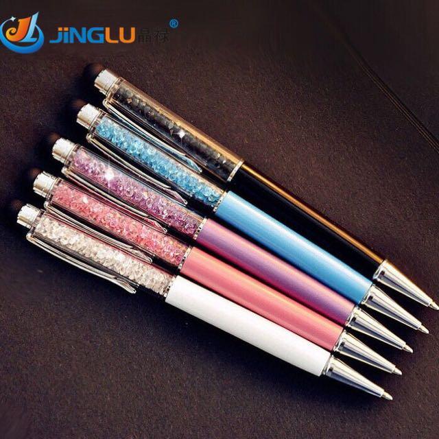 Pulpen Kristal / Pen Touch / Stylus Pad / Alat Tulis / Stationery