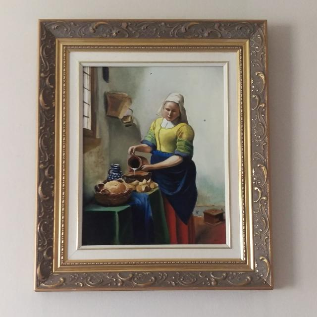 Replication Of Vermeer's Milkmaid