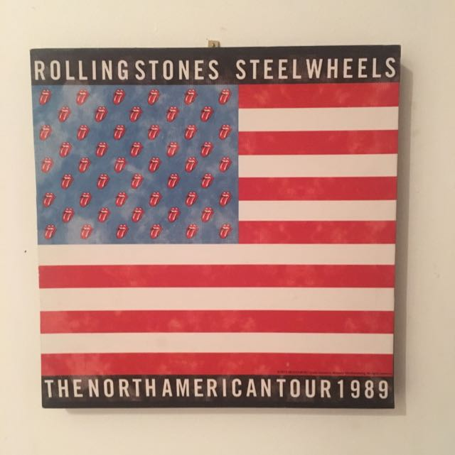 Rolling Stones Steelwheels 1989 Tour Merch