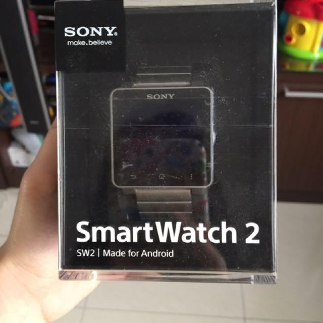 SONY SMART WATCH 2 (silver Chain Nya)