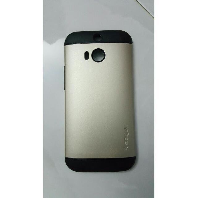 new concept e62a1 82974 Spigen SlimAmour Casing HTC ONE M8
