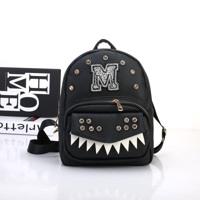 Tas Ransel Mini Hitam Wanita Import Fashion Black Bag Kerja Kantor Kuliah  Sekolah Pesta Cantik Murah df41ecd9a6
