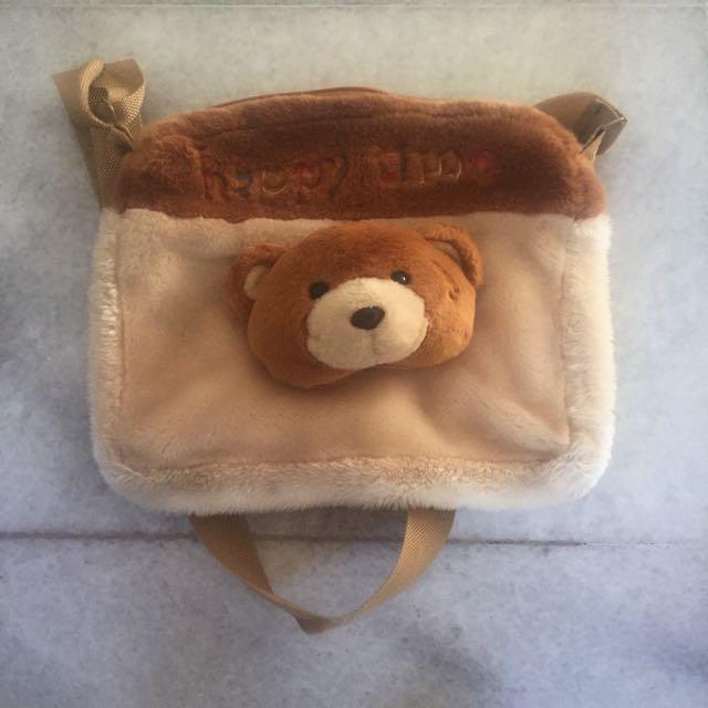 Teddy Bear Sling Bag